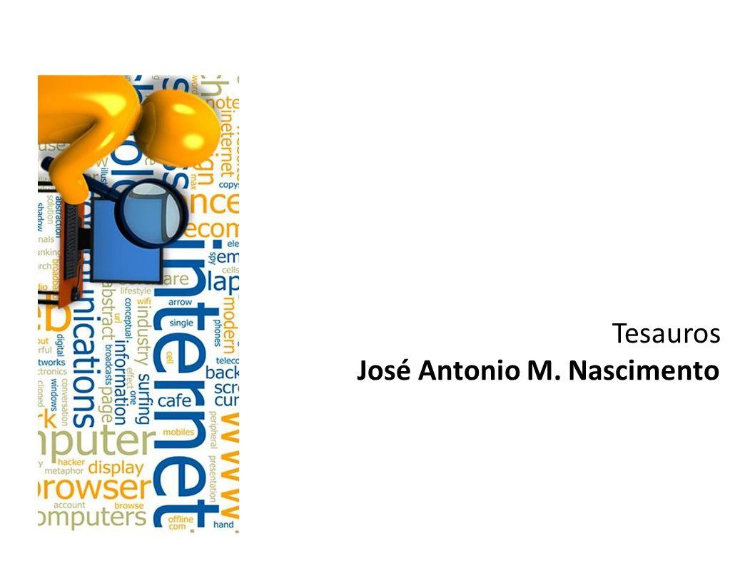 Tesauros José Antonio M. Nascimento