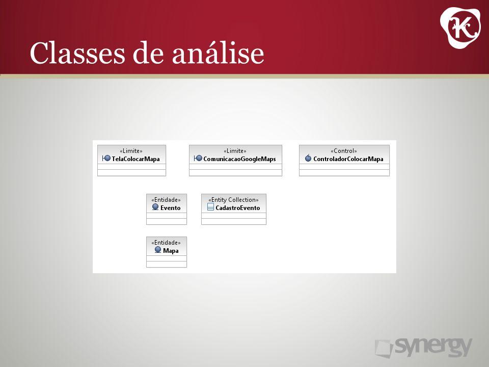 Classes de análise