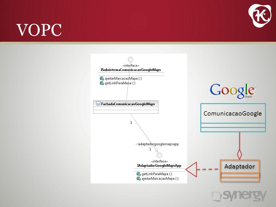 VOPC Adaptador ComunicacaoGoogle