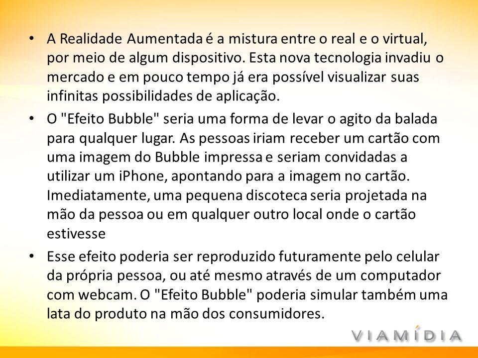 A Realidade Aumentada é a mistura entre o real e o virtual, por meio de algum dispositivo. Esta nova tecnologia invadiu o mercado e em pouco tempo já