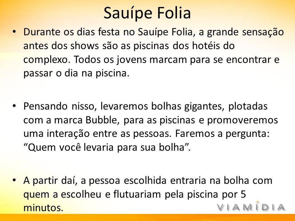 Sauípe Folia Durante os dias festa no Sauípe Folia, a grande sensação antes dos shows são as piscinas dos hotéis do complexo. Todos os jovens marcam p