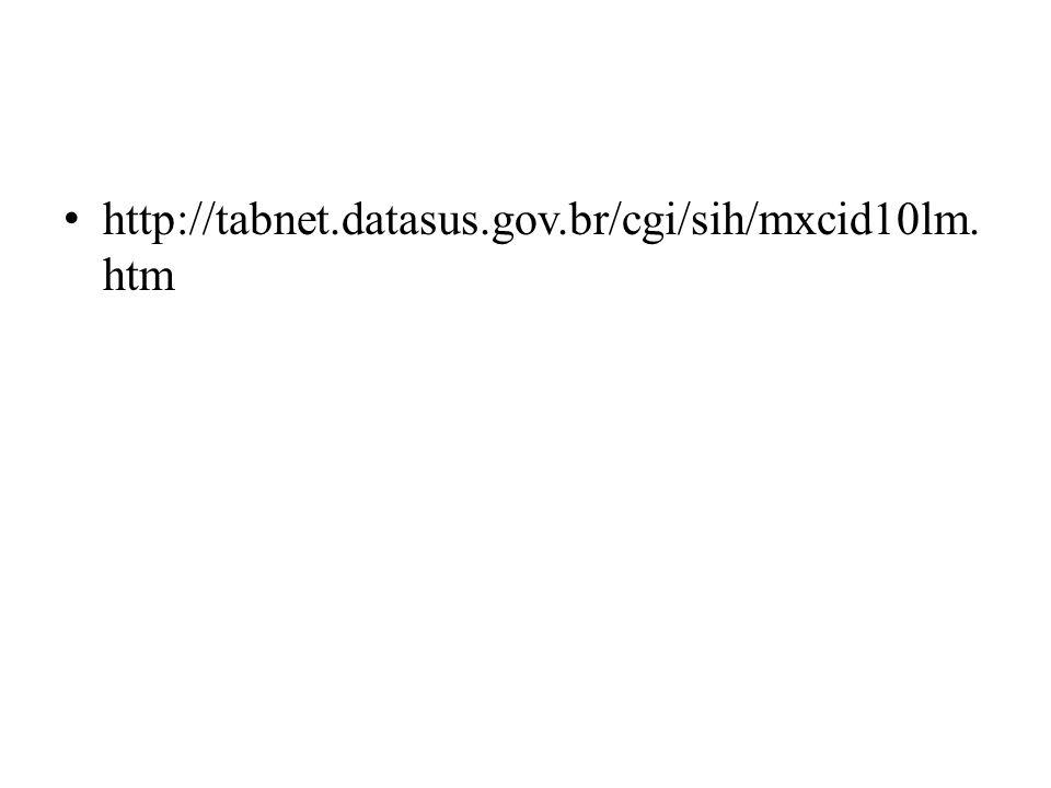 http://tabnet.datasus.gov.br/cgi/sih/mxcid10lm. htm