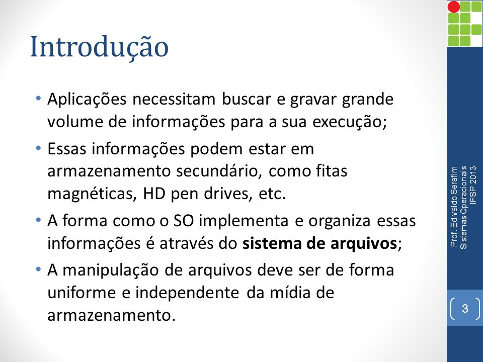Atributos Windows Prof. Edivaldo Serafim - Arquitetura de Computadores - IFSP 2013 14