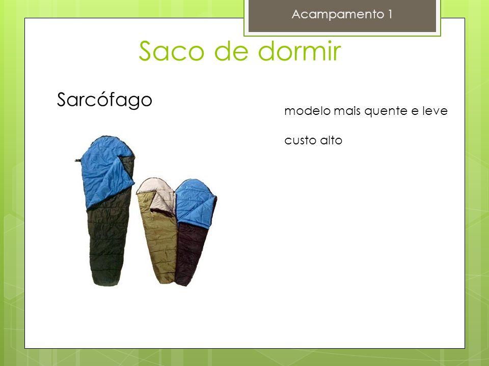 Saco de dormir Acampamento 1 Sarcófago modelo mais quente e leve custo alto