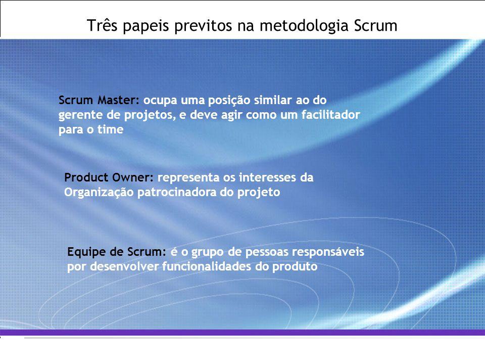 All Rights Reserved © Alcatel-Lucent 2007, ##### 13   GCS / IT&O   July 2007 Três papeis previtos na metodologia Scrum Scrum Master: ocupa uma posição