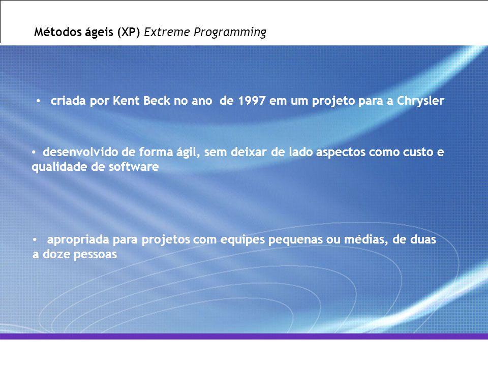 All Rights Reserved © Alcatel-Lucent 2007, ##### 5   GCS / IT&O   July 2007 Métodos ágeis (XP) Extreme Programming criada por Kent Beck no ano de 1997