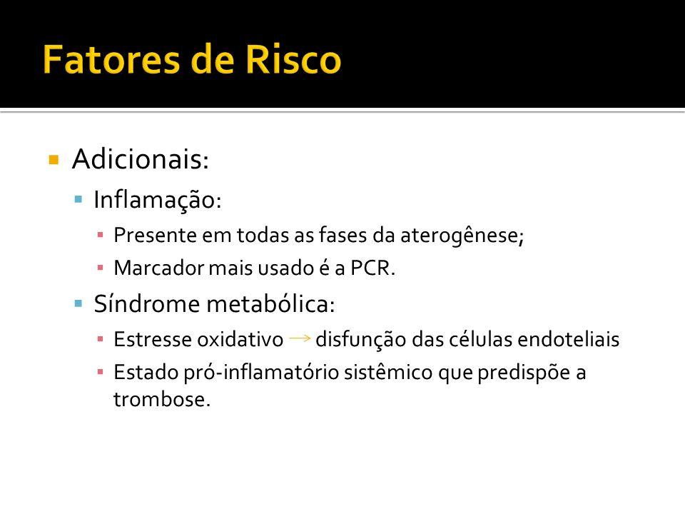 Angina Pectoris Estável > 50 ; >60 Sensações de peso, opressão, compressão, sufocamento, asfixia.