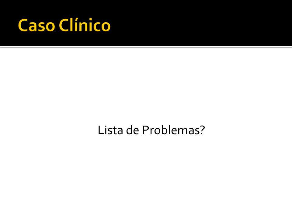 Lista de Problemas?