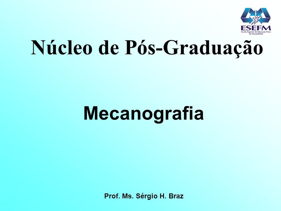 Núcleo de Pós-Graduação Mecanografia Prof. Ms. Sérgio H. Braz