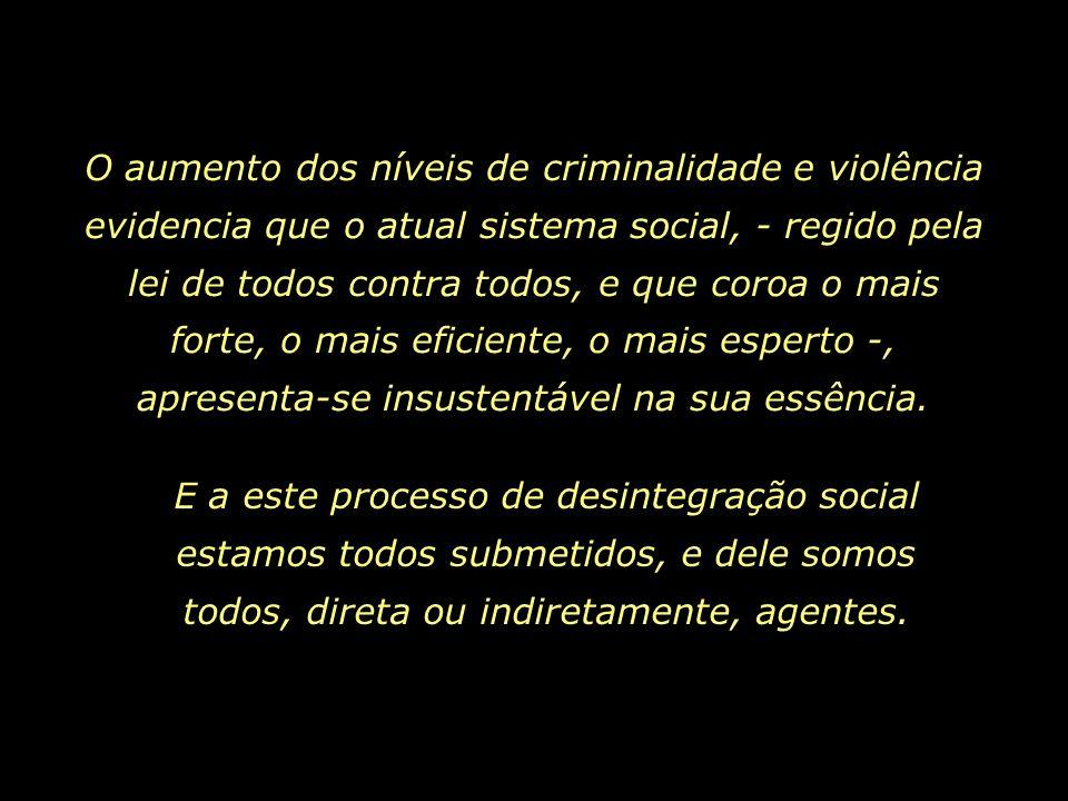 No Brasil, as deformações do velho capitalismo atingem níveis alarmantemente cruéis. Numa lista de 177 países, no quesito desigualdade social, o país