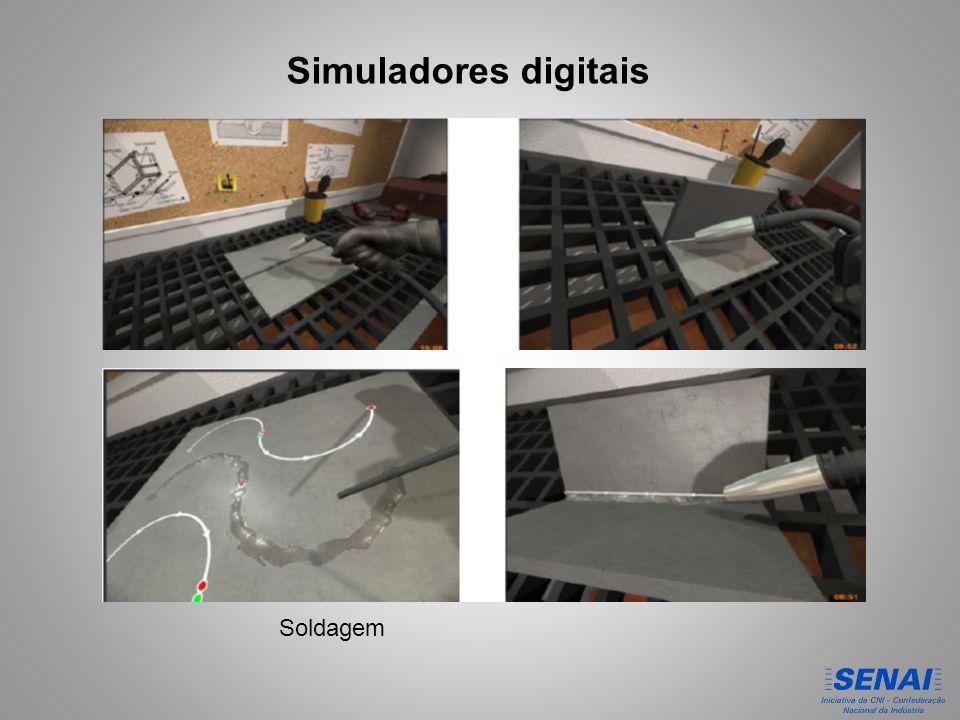 Simuladores digitais Soldagem
