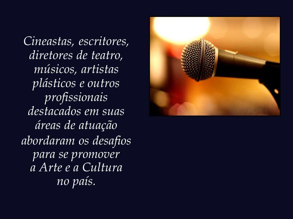 Recentemente, o Centro Cultural Banco do Brasil (CCBB) promoveu um ciclo de encontros onde foram debatidos temas relativos à Arte e à Cultura.