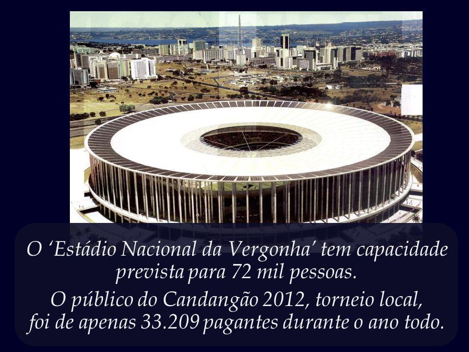 Uma cidade sem nenhuma tradição futebolística, e que já contava com um estádio mais do que suficiente para suas necessidades.
