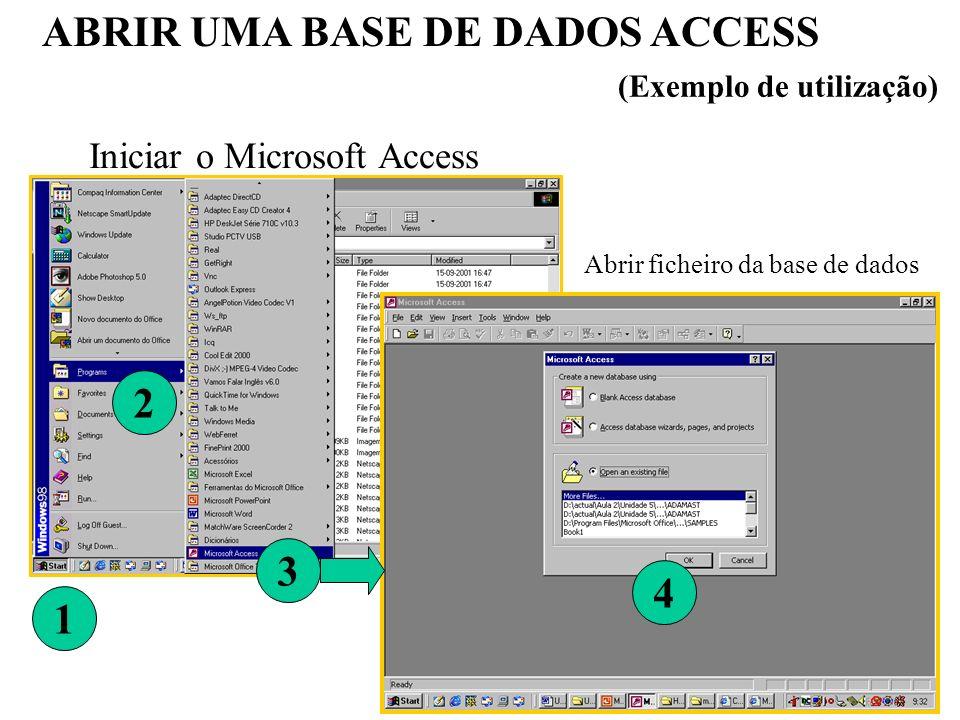 24 Criar RELATÓRIOS (com assistente) (1) Na janela de base de dados, clique em Relatórios na barra Objectos (3) Escolher a(s) tabela(s) a incluir no relatório (2) Na barra de ferramentas escolher novo ou a opçãocriar relatório utilizando o assistente situado na janela da lista de objectos.