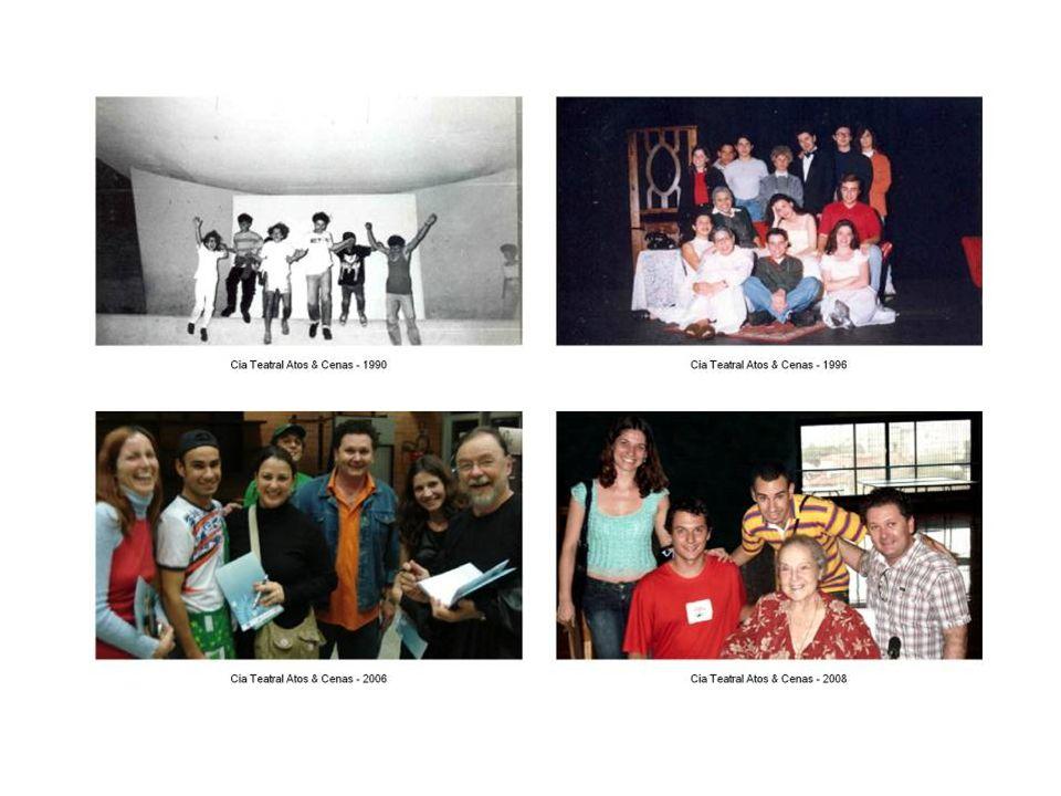 CIA TEATRAL ATOS & CENAS A Cia. Teatral Atos & Cenas existe desde 1.989 e tem como objetivo fomentar o teatro e conseqüentemente a arte. Além da forma