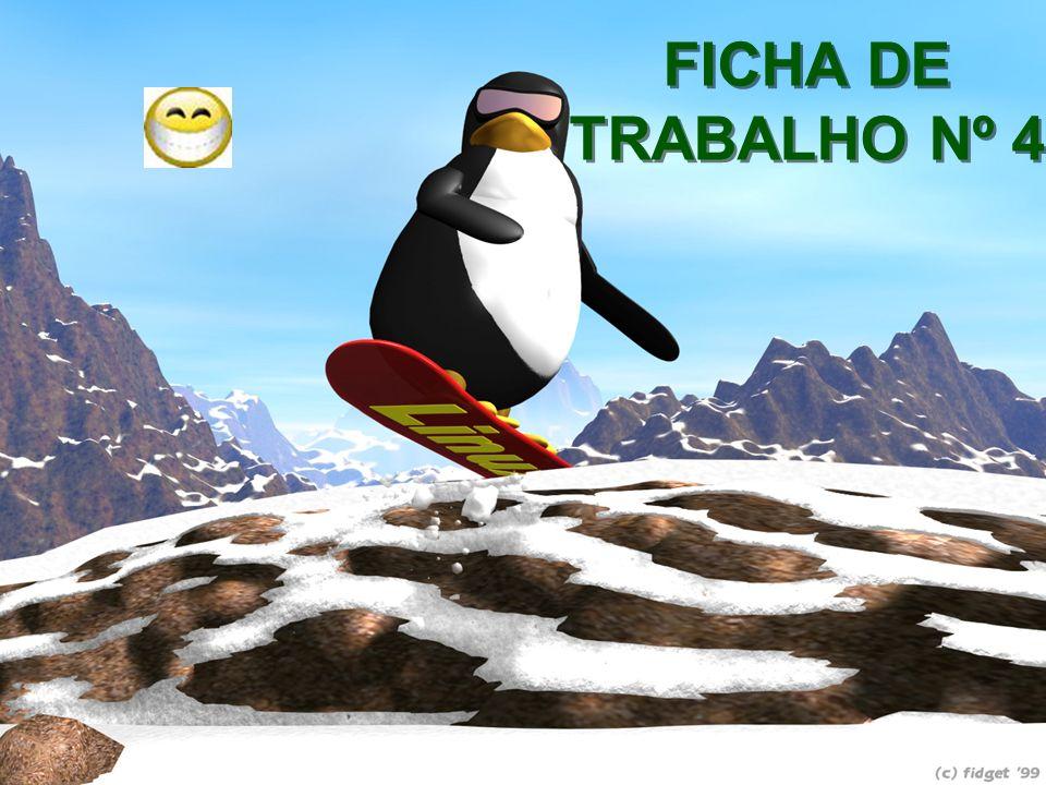 FICHA DE TRABALHO Nº 4