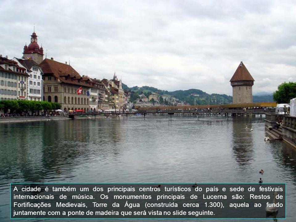 Lucerna é uma comuna Suíça no Cantão do mesmo nome com cerca de 57.253 habitantes.