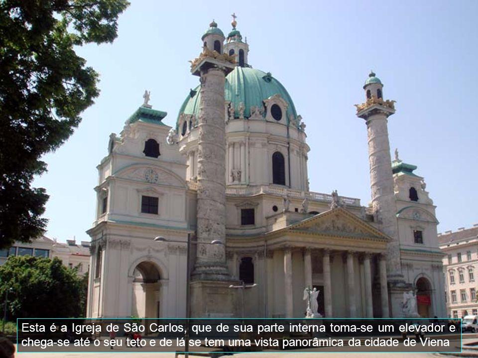 Viena é a capital da Áustria e centro cultural e politico do país.