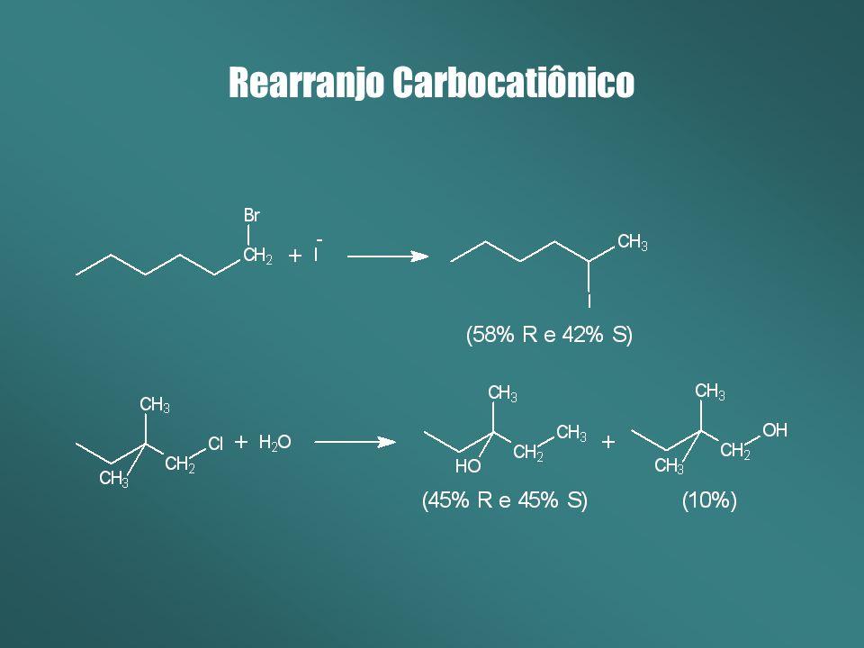 Rearranjo Carbocatiônico