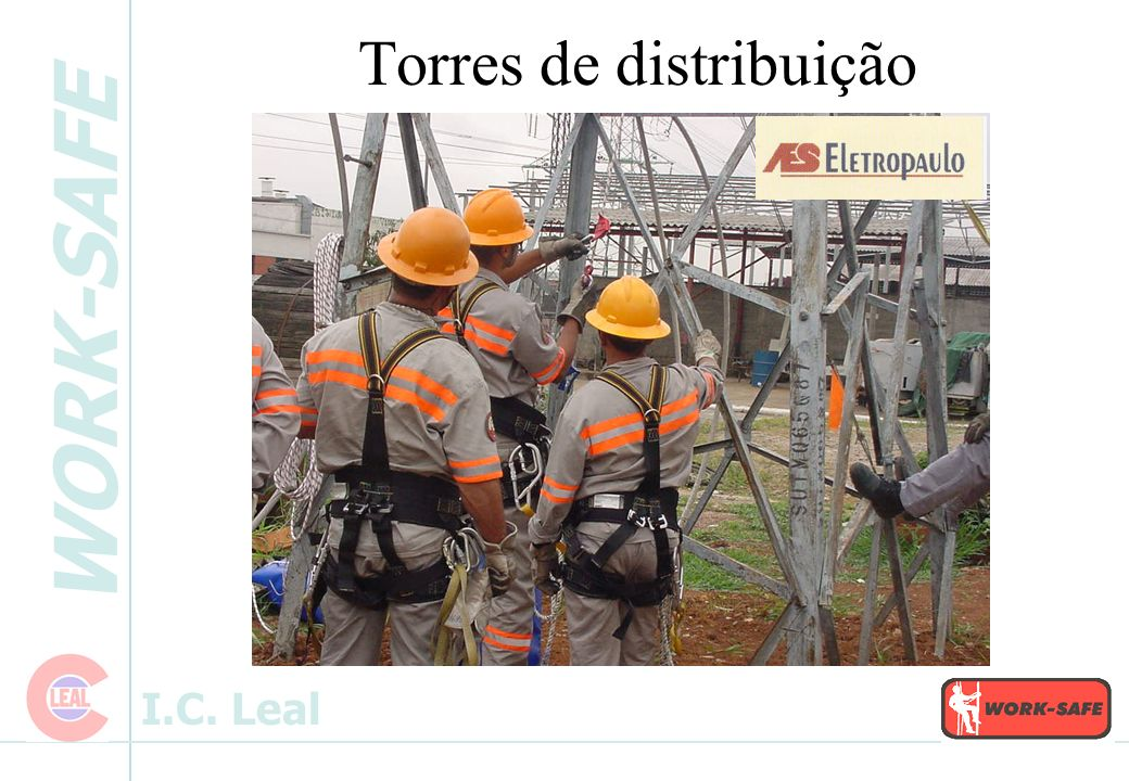 WORK-SAFE I.C. Leal - Subestações Sistema Integrado