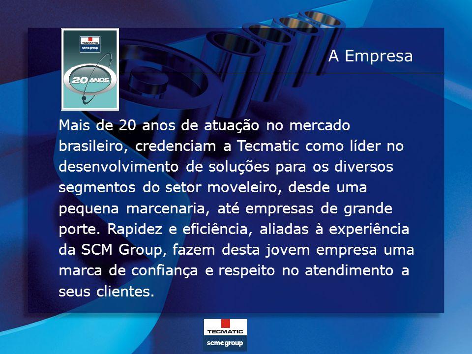 A Empresa Mais de 20 anos de atuação no mercado brasileiro, credenciam a Tecmatic como líder no desenvolvimento de soluções para os diversos segmentos