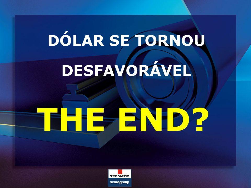 DÓLAR SE TORNOU DESFAVORÁVEL THE END?