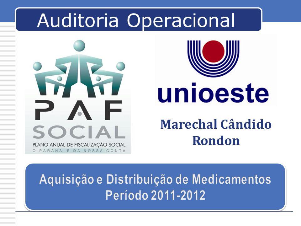 Auditoria Operacional Marechal Cândido Rondon
