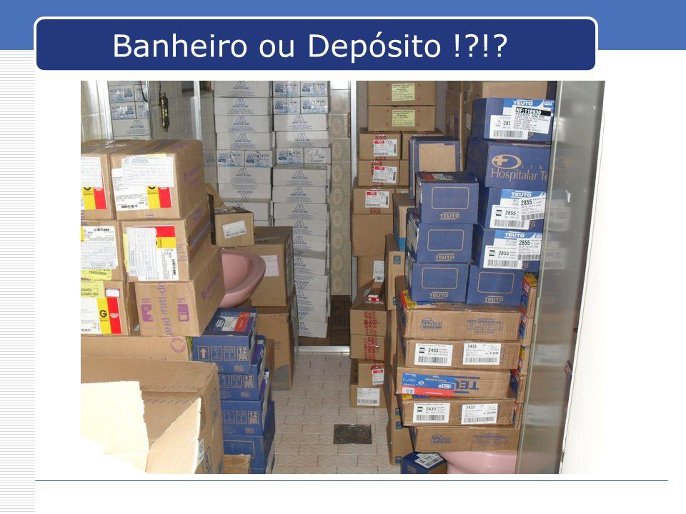 Banheiro ou Depósito !?!?