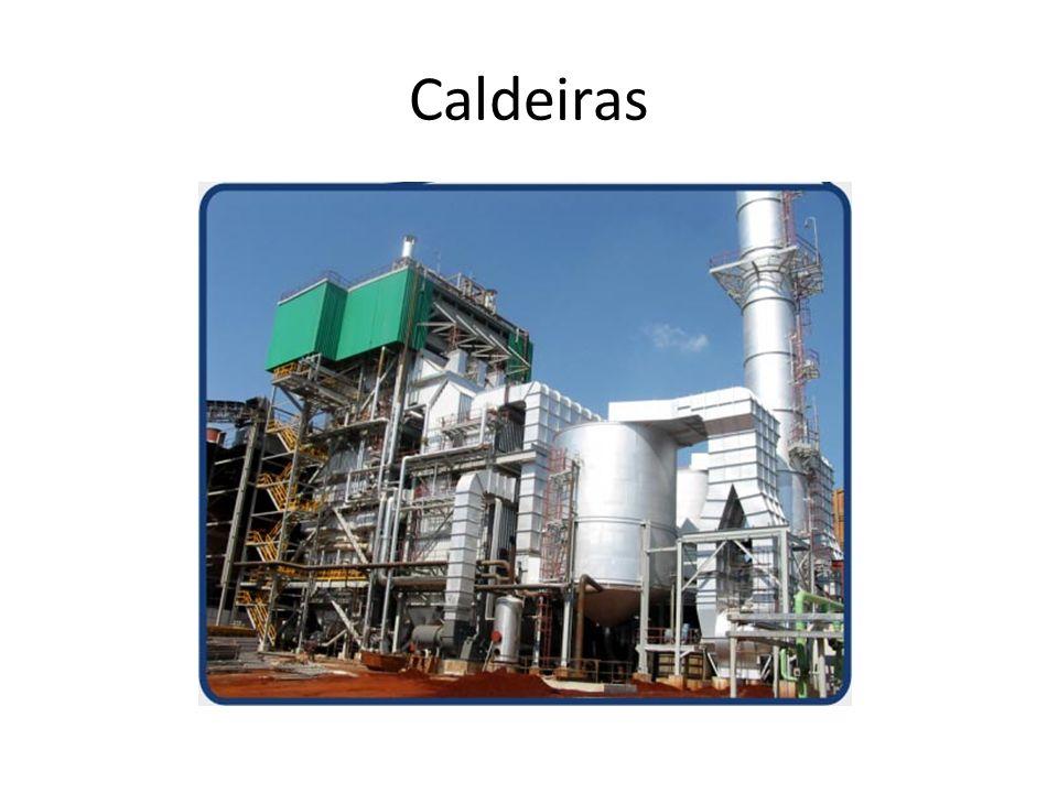 Caldeira É basicamente um trocador de calor que trabalha com pressão superior à pressão atmosférica, produzindo vapor a partir da energia térmica fornecida por uma fonte qualquer.