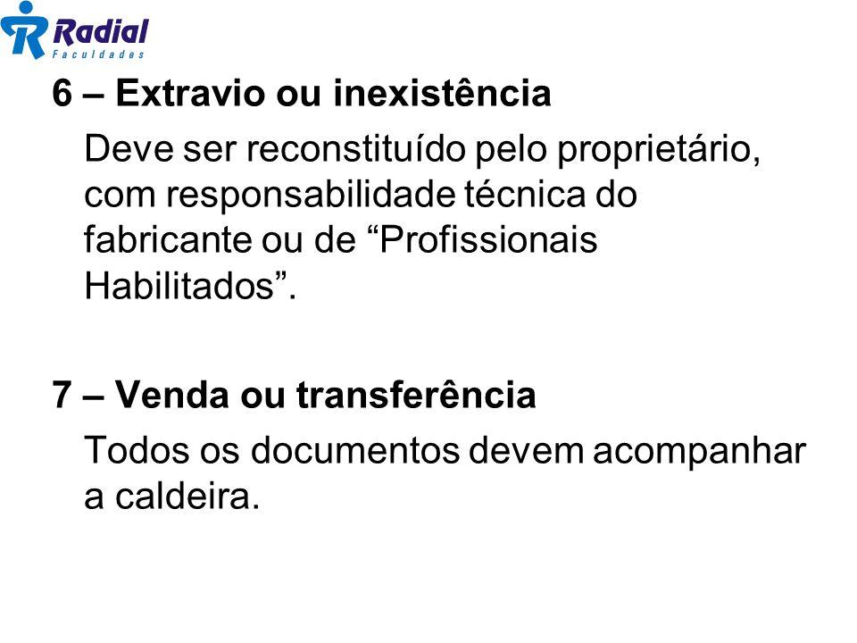 8 – Disponibilização da documentação Quando exigido pela autoridade competente do Órgão Regional do Ministério do Trabalho.