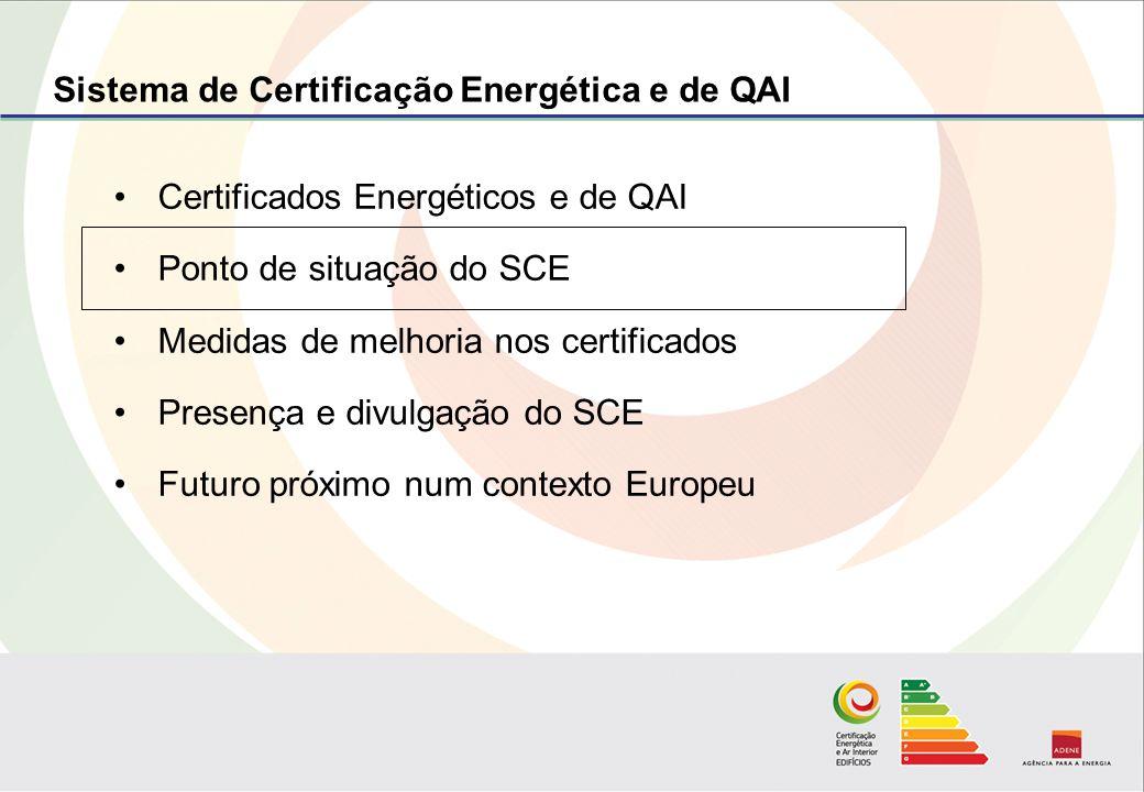 Mais de 1300 Peritos Qualificados (PQs) no SCE (Janeiro 2010) Predominância natural dos peritos RCCTE