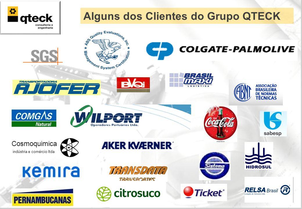 Cosmoquimica indústria e comércio ltda Alguns dos Clientes do Grupo QTECK