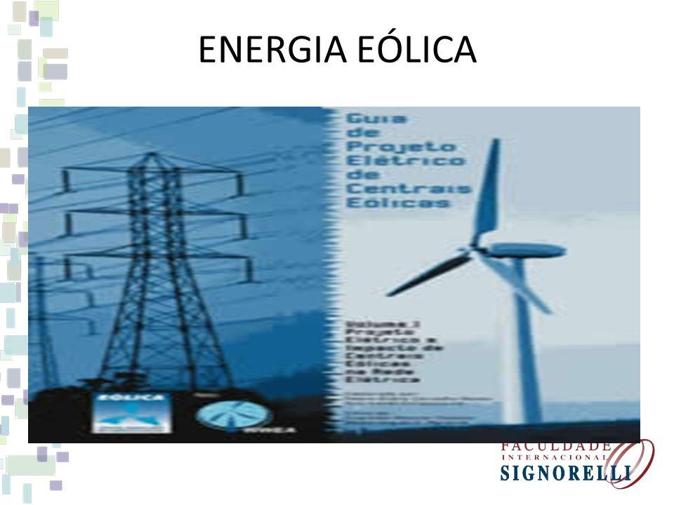 FONTES DE ENERGIA ALTERNATIVAS - EÓLICA FONTE MOVIMENTO DOS VENTOS SÃO CAPTADOS PELAS HÉLICES QUE ACIONAM AS TURBINAS LIGADAS A UM GERADOR ELÉTRICO. U