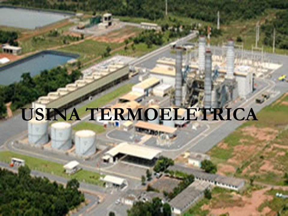 Usina Termoelétrica É um conjunto de equipamentos adequadamente dispostos que tem por finalidade produzir energia elétrica a partir de energia térmica e através da reação de combustão (queima de combustíveis).
