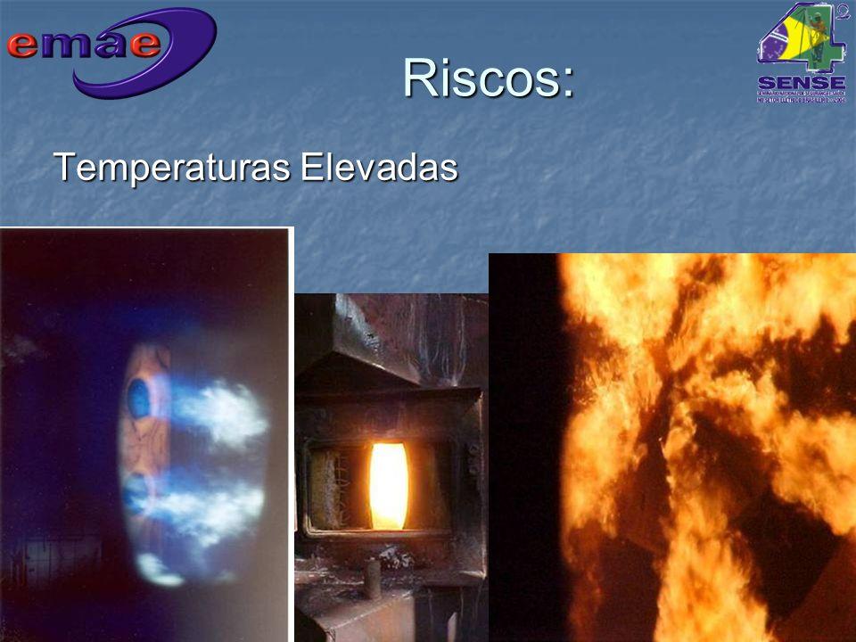 Riscos: Temperaturas Elevadas
