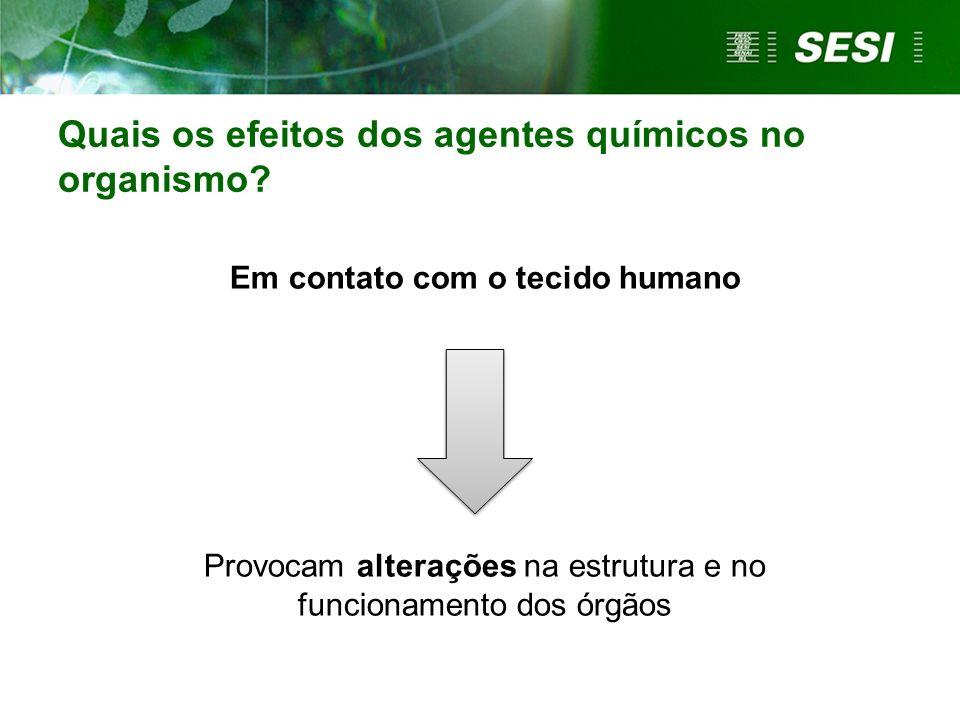 Identificação do agente químico Fonte: ANDEF, 2006