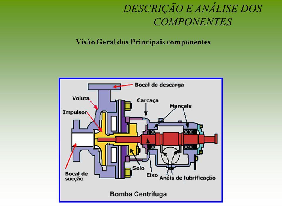 DESCRIÇÃO E ANÁLISE DOS COMPONENTES Visão Geral dos Principais componentes