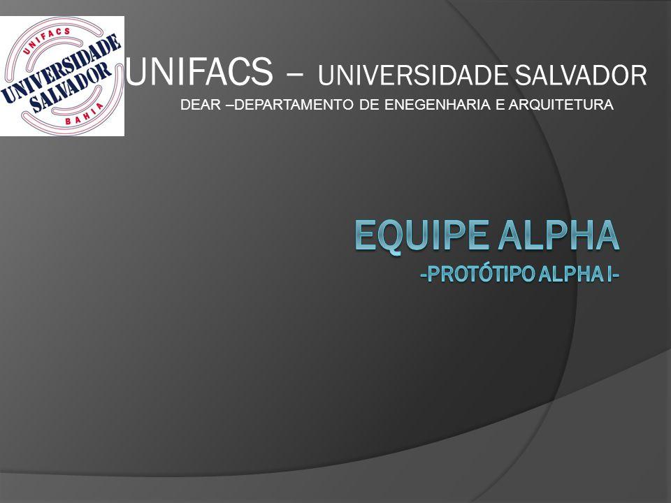 DEAR –DEPARTAMENTO DE ENEGENHARIA E ARQUITETURA UNIFACS – UNIVERSIDADE SALVADOR
