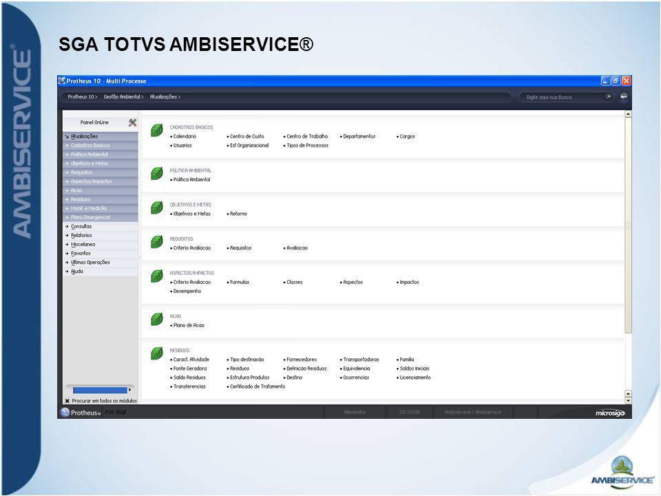 SGA TOTVS AMBISERVICE®