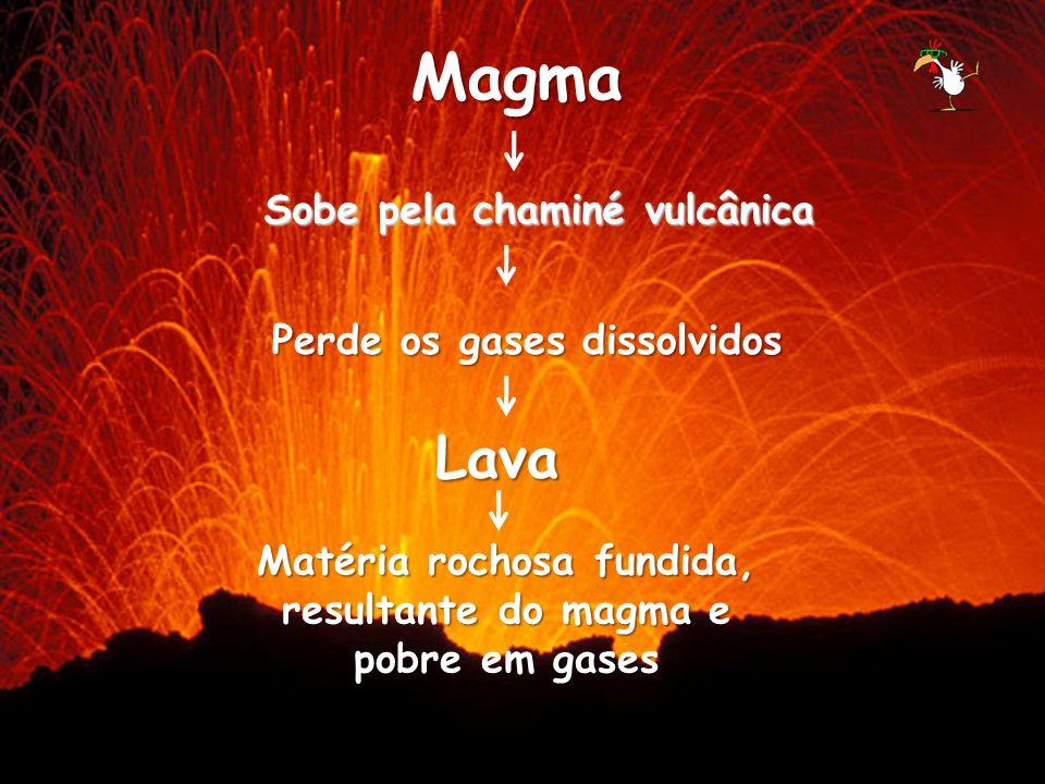 3- Erupção mista: apresenta uma mistura dos dois tipos de erupção, ou seja, emissão tranquila de lava alternada com explosões.