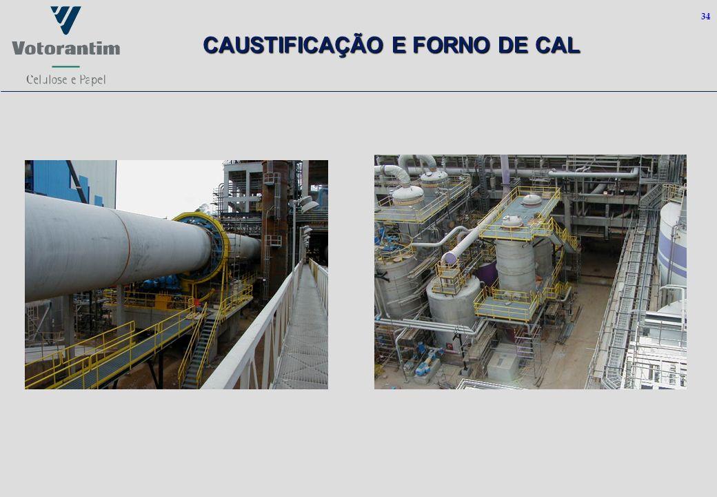 34 CAUSTIFICAÇÃO E FORNO DE CAL