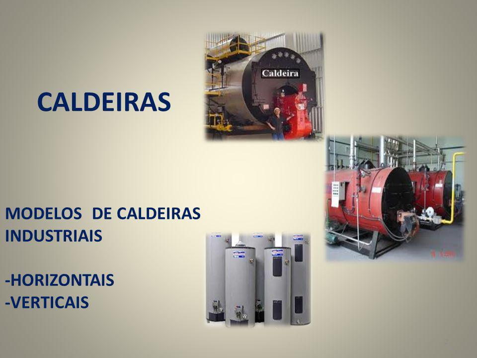 2 CALDEIRAS MODELOS DE CALDEIRAS INDUSTRIAIS -HORIZONTAIS -VERTICAIS
