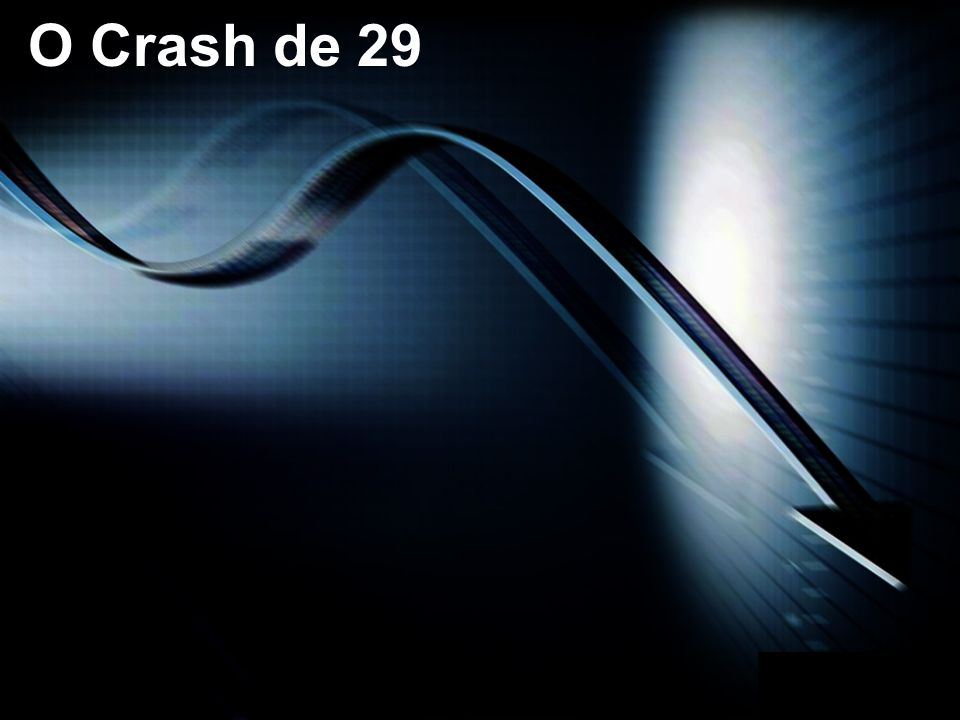 O Crash de 29