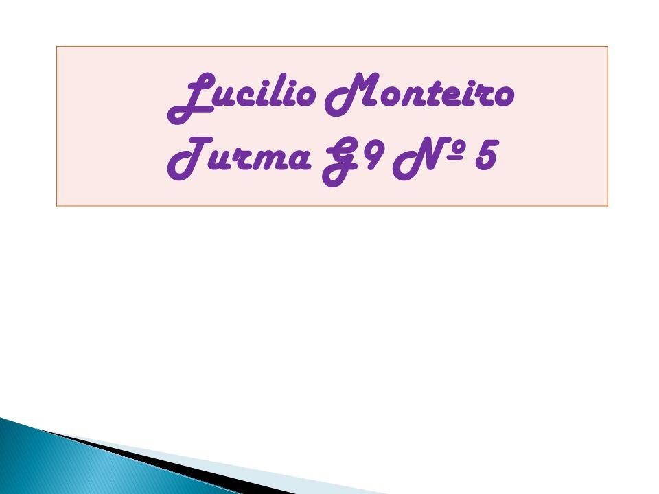 Lucilio Monteiro Turma G9 Nº 5
