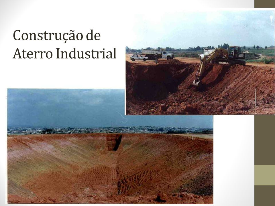 Construção de Aterro Industrial
