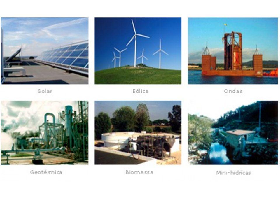 FONTE RENOVÁVEL OBTENÇÃOUSOVANTAGENSDESVANTAGENS EÓLICA O movimento dos ventos é captado por pás de hélices gigantes ligadas a uma turbina que acionam um gerador elétrico.