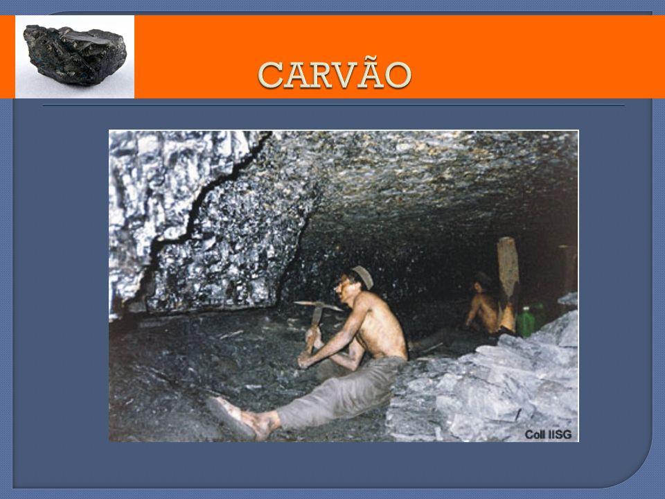 Resíduos Sólidos e Perigosos A queima do carvão e do petróleo origina a produção de resíduos sólidos contaminados com metais pesados.