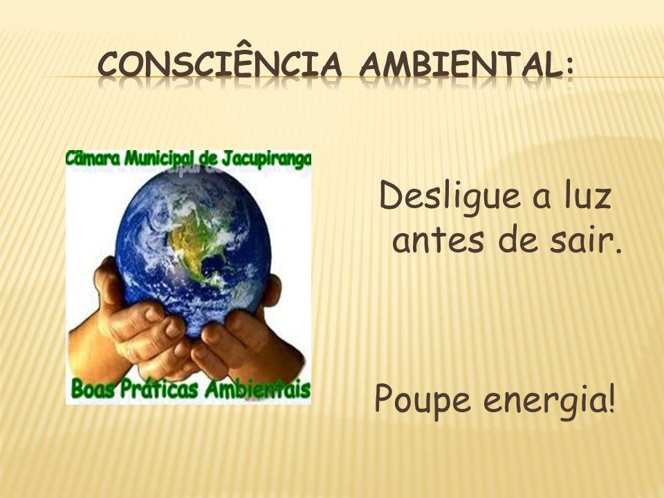 Imprima somente o necessário. Pense no meio ambiente!