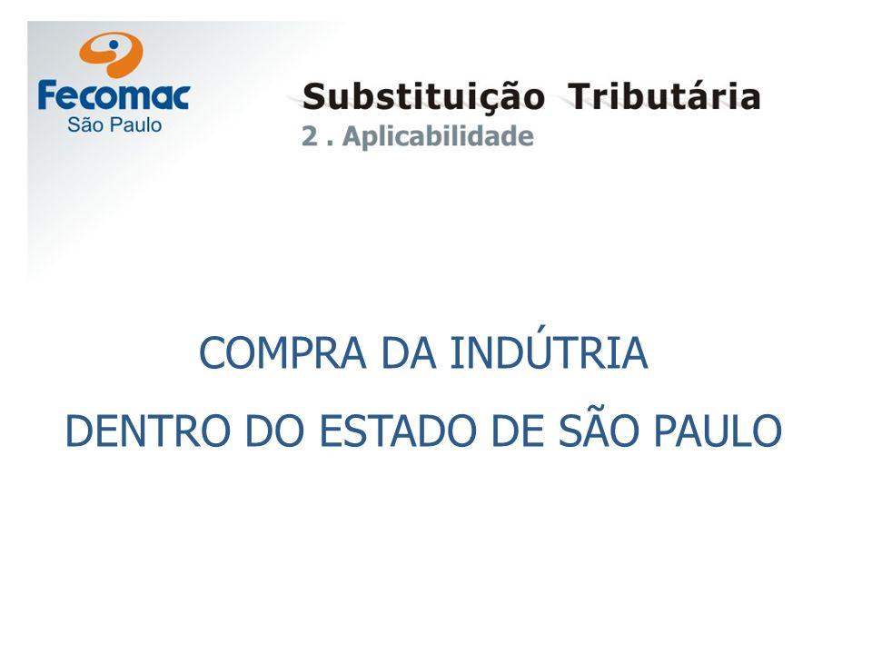 COMPRA DA INDÚTRIA DENTRO DO ESTADO DE SÃO PAULO