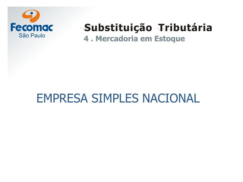 EMPRESA SIMPLES NACIONAL